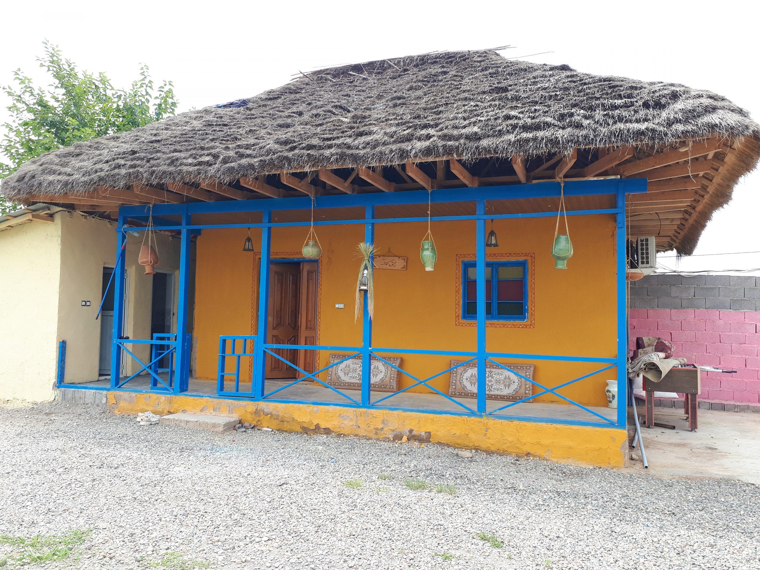 ویلا روستایی یادگار و کلبه سنتی تی تی کومه