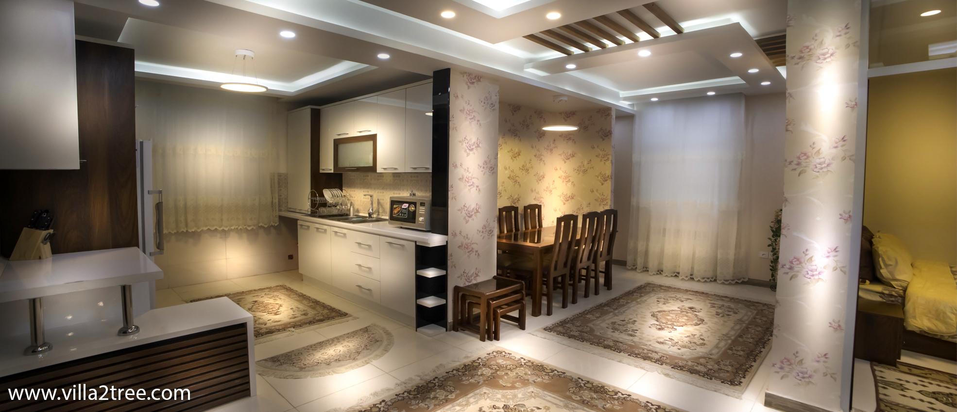 آپارتمان لوکس۹۰ متری دوخوابه طبقه۲