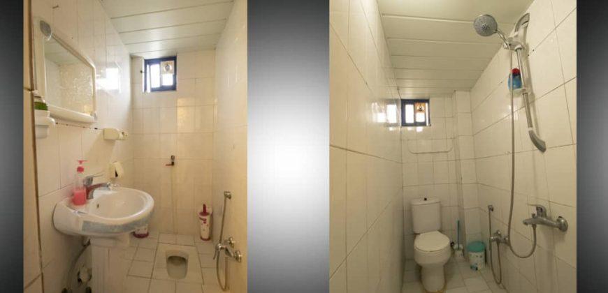 آپارتمان مدیوم۶۰ متری دوخوابه طبقه۴